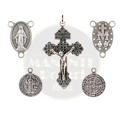 Componenti per Rosari, CROCI, CROCIERE, MEDAGLIE