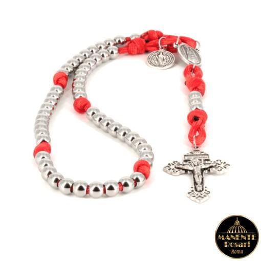Negozio online acquisto Rosari artigianali in acciaio e paracord