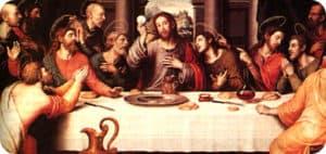 Eucaristia, Ultima cena