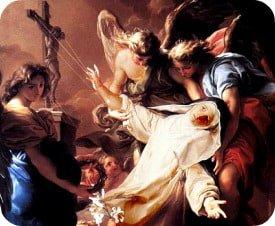 Santa Caterina da Siena era una laica col carisma della liberazione dai demoni