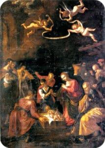 Gli Angeli cantano per la nascita del Cristo