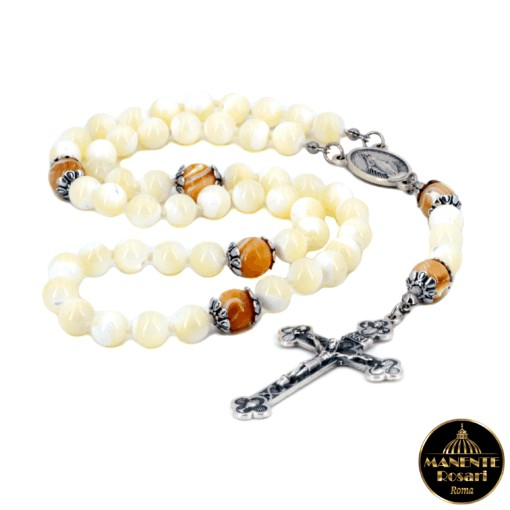 Negozio vendita on-line Rosari artigianali in Madreperla