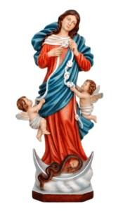 Statua di Maria che scioglie i nodi