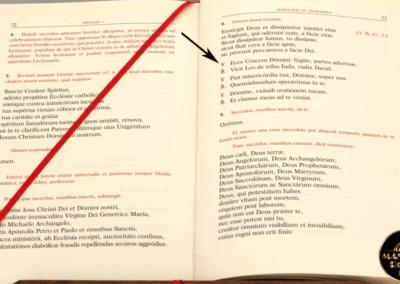 Il breve di Sant'Antonio nel nuovo Rituale degli Esorcismi del 2004 | MANENTE Vendita Rosari Online