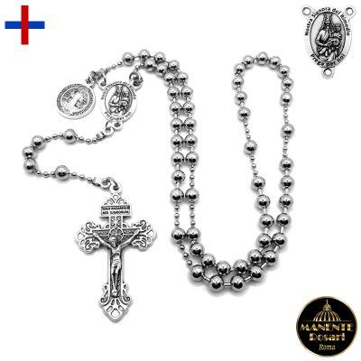 Vendita Corona Rosario in Acciaio a Nostra Signora del Buon Rimedio