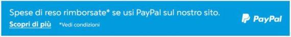 PayPal ti rimborsa le spese di reso