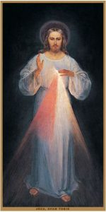 Dipinto originale di Gesù Misericordioso