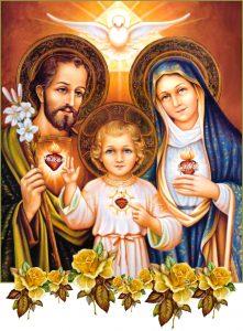 Devozione ai 3 Sacri Cuori di Gesù, Giuseppe e Maria