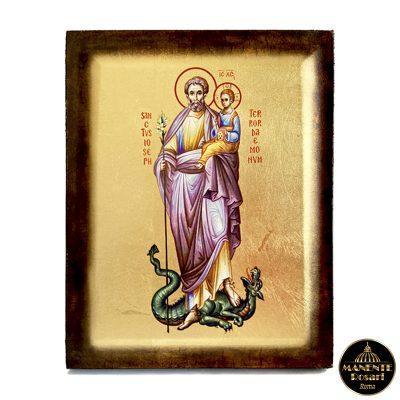 Riproduzione Icona a San Giuseppe