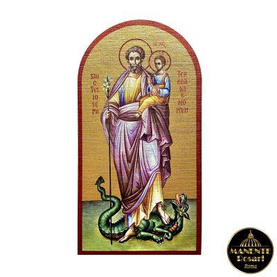 Icona SANCTUS IOSEPH TERROR DAEMONUM